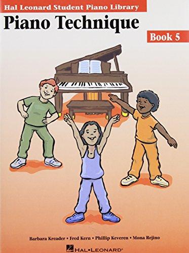 9780634013577: PIANO TECHNIQUE BOOK 5 HLSPL (Hal Leonard Student Piano Library)