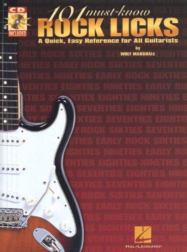 9780634013706: 101 Must-Know Rock Licks