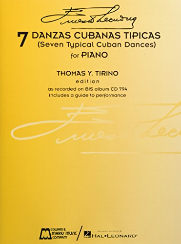 9780634013836: 7 Danzas Cubanas Tipicas: (Seven Typical Cuban Dances)