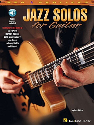 9780634013911: Jazz Solos For Guitar (REH Pro Licks)