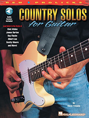 9780634013928: Reh Country Solos Gtr Bkcd (Reh U Prolicks Series)