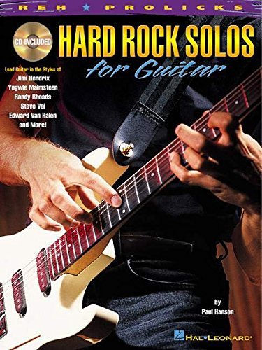 9780634013942: Hard Rock Solos for Guitar
