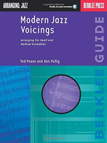 9780634014437: Arranging Jazz: Modern Jazz Voicings