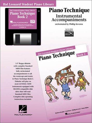 9780634014581: Piano Technique Book 2 - GM Disk: Hal Leonard Student Piano Library