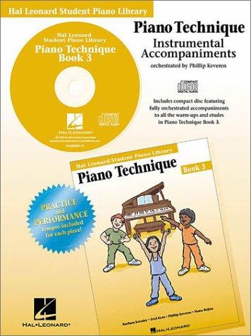 9780634014604: Piano Technique Book 3 - CD: Hal Leonard Student Piano Library