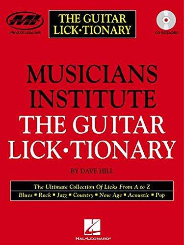 9780634014710: The Guitar Lick¥tionary