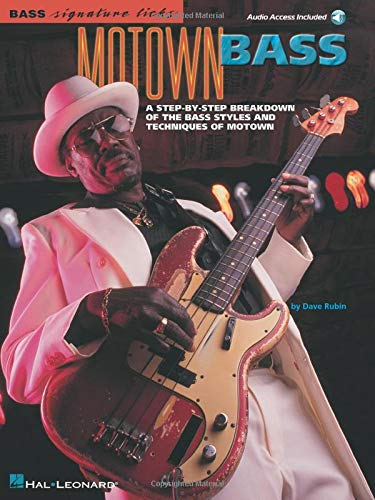 9780634015205: Bass Signature Licks: Motown Bass (Bass Tab)