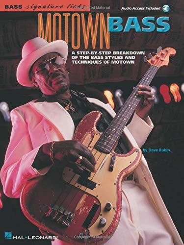 9780634015205: Bass Signature Licks: Motown Bass + CD
