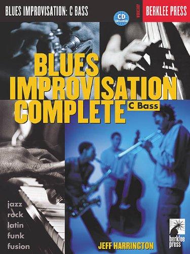 9780634015328: Blues Improvisation Complete: C Bass
