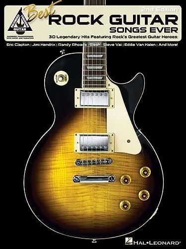 9780634015472: Best Rock Guitar Songs Ever