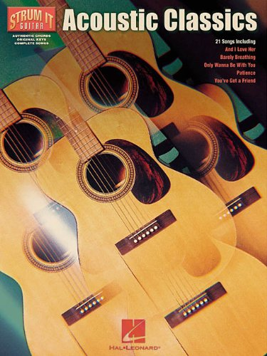9780634016417: Acoustic Classics (Strum It Guitar)