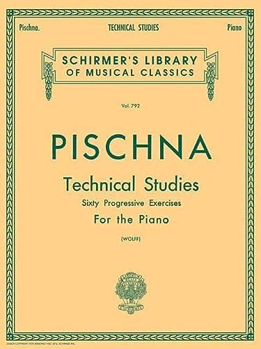 9780634016448: Pischna - Technical Studies (Schirmer's Library of Musical Classics)
