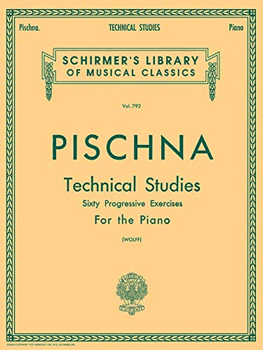 9780634016448: Pischna: Technical Studies for the Piano