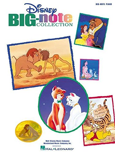 9780634017612: Disney Big-Note Collection (Big-Note Piano)