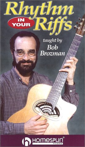 Rhythm In Your Riffs (0634018019) by Bob Brozman; Happy Traum