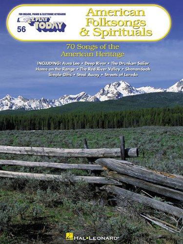 9780634018329: American Folksongs & Spirituals: E-Z Play Today Volume 56