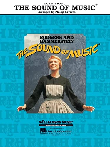 9780634018756: The Sound of Music (Big-Note Piano)