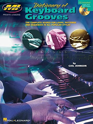 9780634018787: Dictionary of Keyboard Grooves: Private Lessons Series