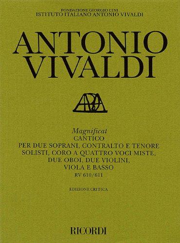 9780634018961: Magnificat Rv610/rv611: Critical Edition Score