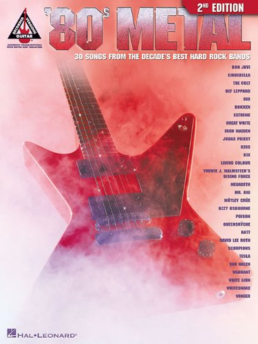 9780634018985: '80S METAL 2ND EDITION (Guitar Recorded Versions)