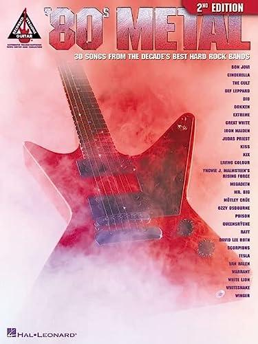 9780634018985: '80s Metal (Guitar Recorded Versions)