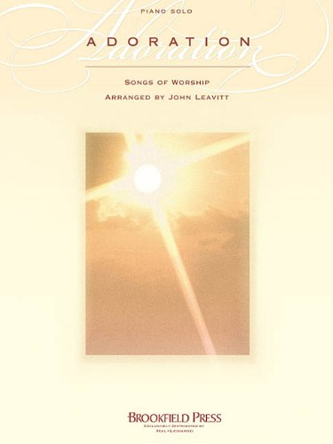 9780634019098: Adoration Songs Of Worship Piano Solo