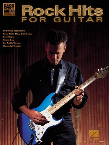 9780634019272: ROCK HITS FOR GUITAR EASY GUITAR (Easy Guitar with Notes & Tab)