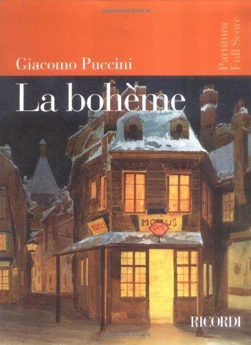 9780634019432: La Boheme: Full Score [Sheet Music] (Italian Language) (Italian Edition)