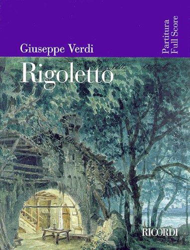 9780634019470: RIGOLETTO FULL SCORE REVISED EDITION WITH ORIGINAL COLOR  ARTWORK COVER