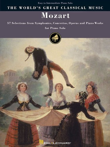 9780634019548: Mozart: 57 Selections from Symphonies, Concertos, Operas and Piano Works Easy to Intermediate Piano Solos (Worlds Greatest Classical Musi)