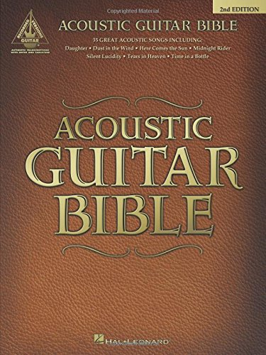 9780634019555: Acoustic Guitar Bible: Guitar Recorded Versions
