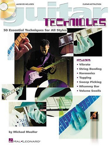 9780634019920: GUITAR TECHNIQUES BK/CD