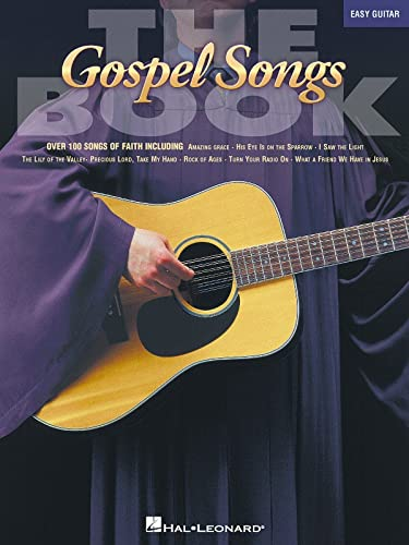 9780634020179: The Gospel Songs Book (Easy Guitar)