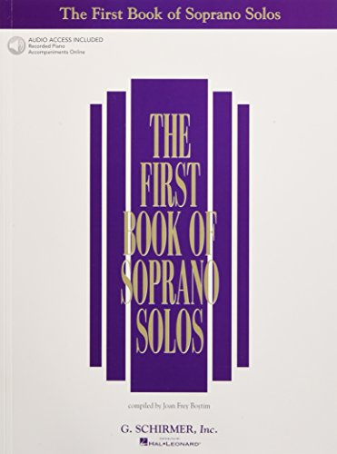 9780634020469: The First Book of Soprano Solos: Book/Online Audio (First Book of Solos)