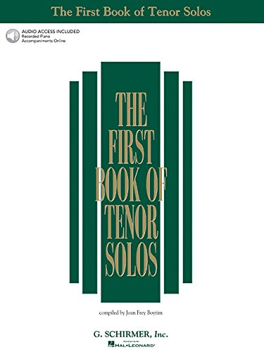 9780634020483: The First Book Of Tenor Solos: Book/Audio Online (First Book of Solos)