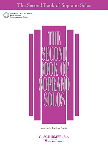 9780634020544: The Second Book of Soprano Solos: Book/Online Audio (Second Book of Solos)