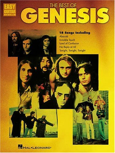 9780634020711: The Best of Genesis (Easy Guitar with Notes & Tab)