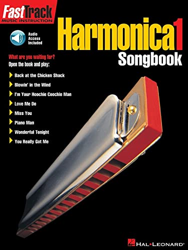 9780634020742: FastTrack Harmonica Songbook - Level 1 (Fast Track (Hal Leonard)) (FastTrack Music Instruction)