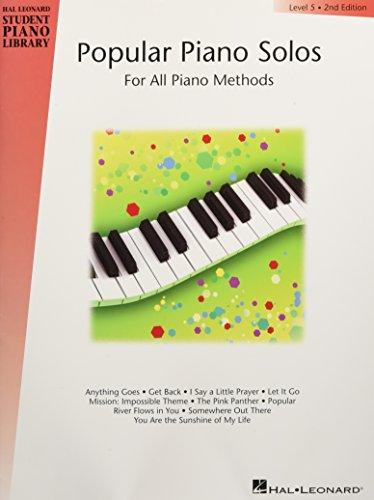 9780634020957: Popular Piano Solos - Level 5: Hal Leonard Student Piano Library