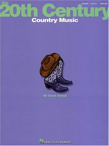 9780634021190: 20th Century: Country Music