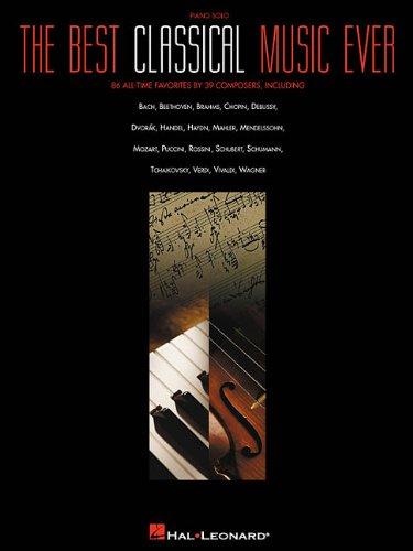 9780634021213: The Best Classical Music Ever: Piano Solo