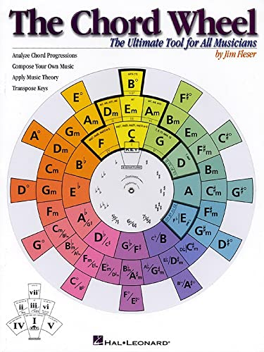 9780634021428: The Chord Wheel: The Ultimate Tool for All Musicians