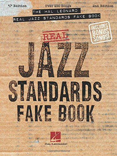 9780634021558: The Hal Leonard Real Jazz Standards Fake Book: C Edition (Fake Books)