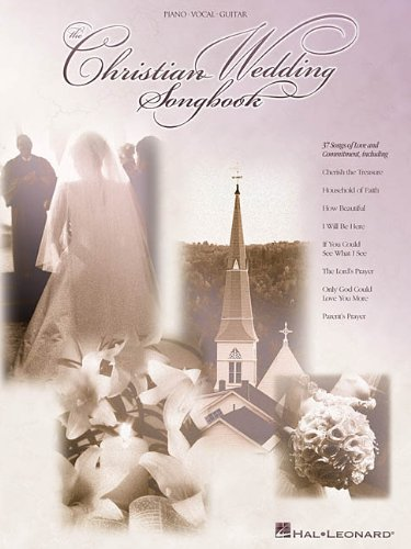9780634021695: The Christian Wedding Songbook