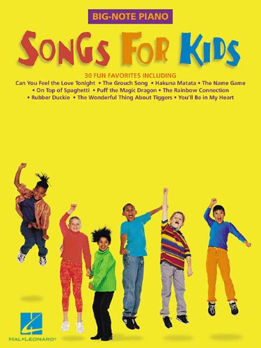 9780634021794: Songs for Kids (Big-Note Piano)
