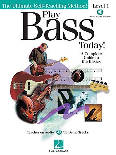 9780634021848: PLAY BASS TODAY LEVEL 1      BK/CD (Ultimate Self-Teaching Method!)