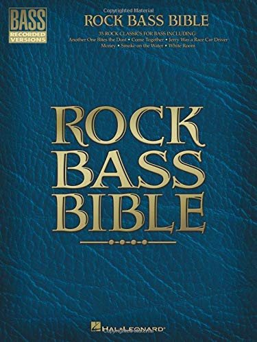 9780634022166: Rock Bass Bible