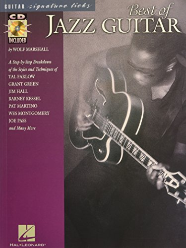 9780634022661: Best of Jazz Guitar (Signature Licks) - With CD