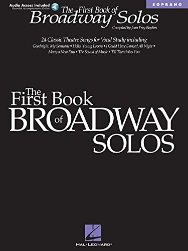 9780634022814: The First Book of Broadway Solos: Soprano (Book & online audio access)