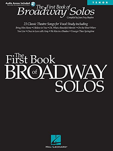 9780634022838: First Book of Broadway Solos: Tenor Edition